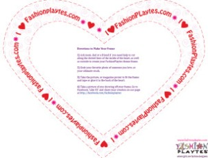 Share the Love with A FashionPlaytes Frame